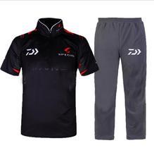 2017 Daiwa Fishing Clothing Sets Men Breathable UPF 50+ Anti UV Outdoor Sportswear Suit Summersho Short Fishing Shirt and Pants