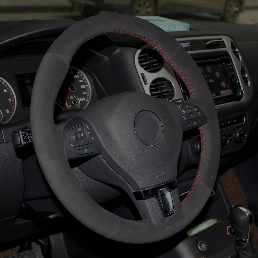 CARBON FIBER LOOK R1 BLACK TO FIT A MAZDA CX 5 i STEERING WHEEL COVER