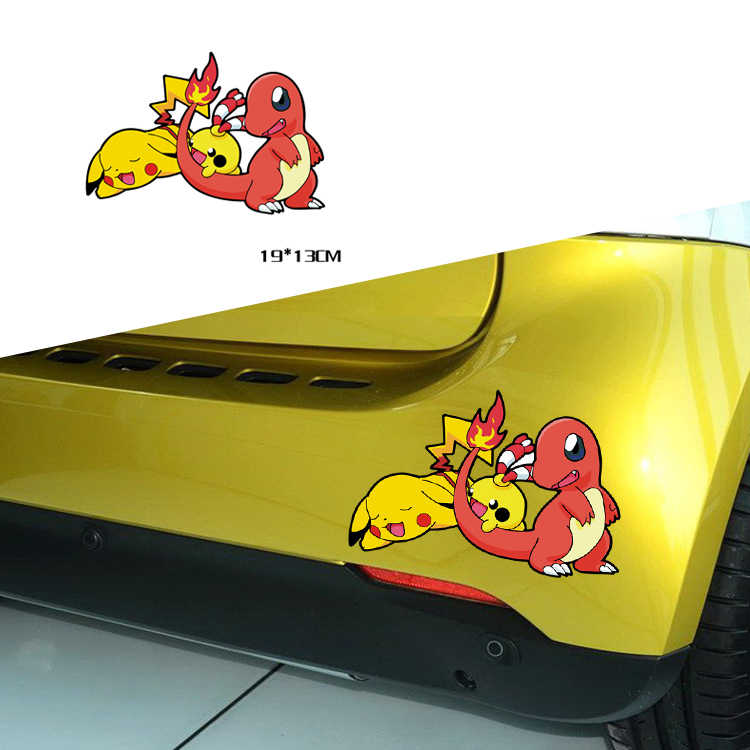 Detail Feedback Questions about Car Sticker Pokemon GO Pikachu