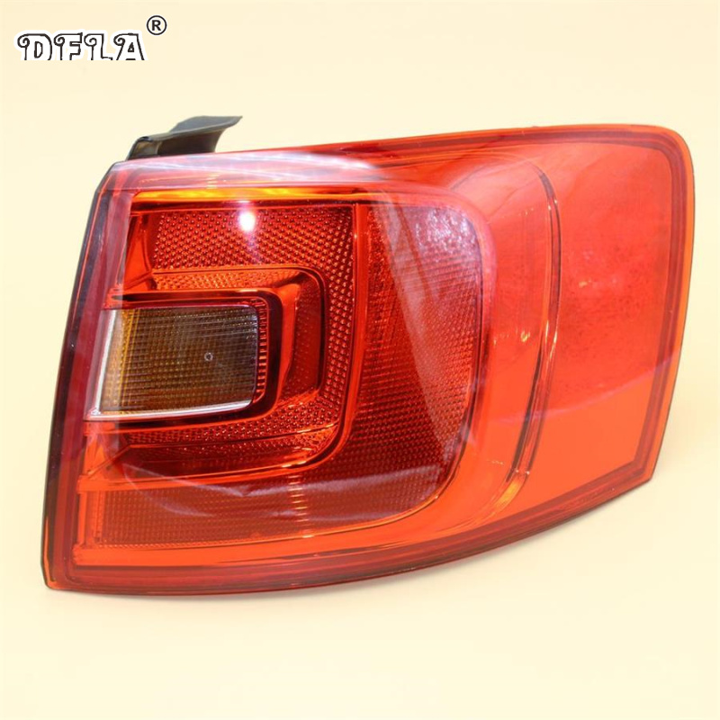 Car Light For VW Jetta V MK5 Facelift Sendan 2011 2012 2013 2014 Car-Styling Rear Tail Light Lamp Right Side Outer LHD auto body rear tail side trunk vinyl decals raptor graphics svt sticker for ford f150 2009 2010 2011 2012 2013 2014