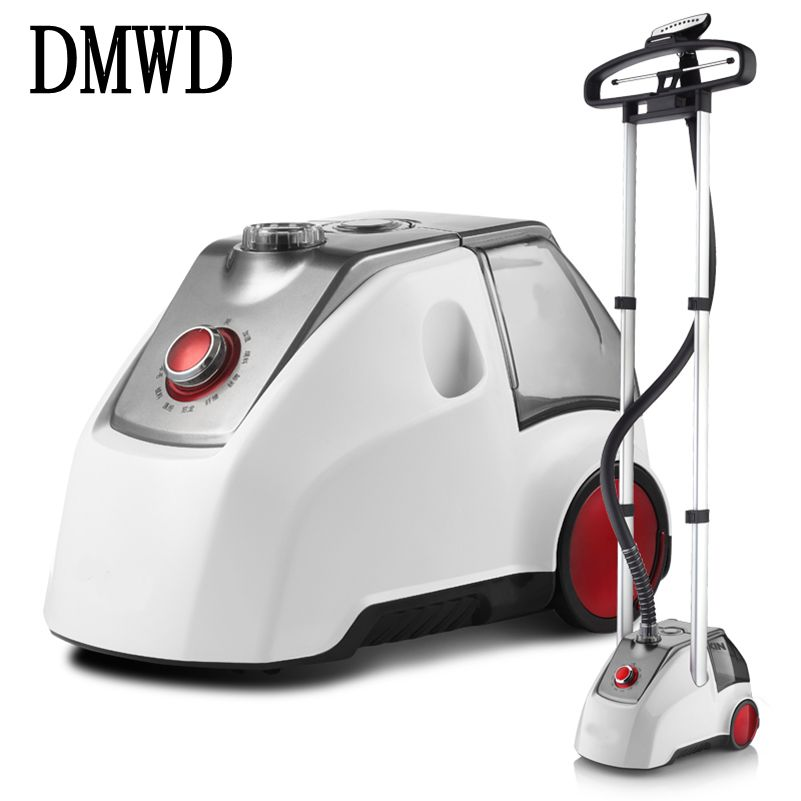 DMWD 2000W Garment Steamers Steam generator Iron for Clothes Hanging Vertical Electric Ironing Machine Handheld brush 2.5L EU US vertical clothes steamer irons for home garment steamers for clothes handheld steam iron cleaning machine for ironing clothes
