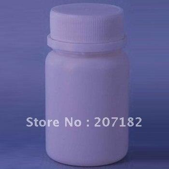 500 компл./лот) 60 мл PE круглый медицина бутылки, бутылочку, пластиковые бутылки