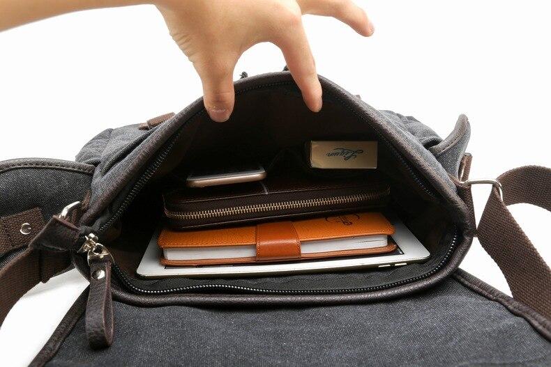 yesetn bag 010517 man canvas shoulder bag male casual messenger bag 6