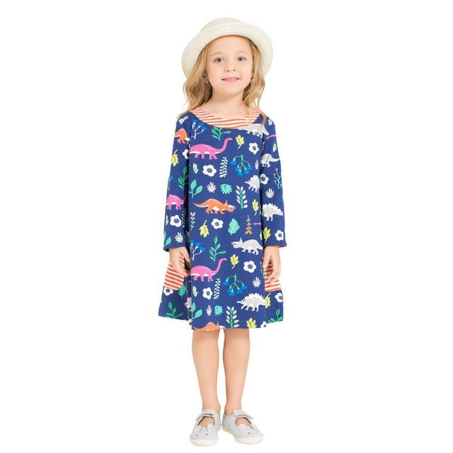 5bf53b548 Aliexpress.com   Buy Baby Girls flower Dresses Jumping Children ...