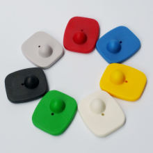 Квадратные Жесткие защитные этикетки eas rf 82 Гц для магазина