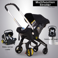 New Multifunction Baby Stroller/Cradle/Carrycot/Carseat 4 in 1 Travel System Pram Infant Portable Push chair Infant Carrier