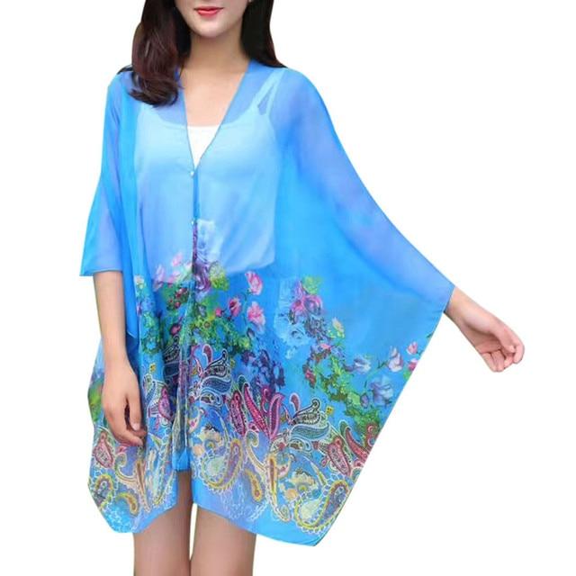 Bufanda de gasa de alta calidad para mujer, bufanda de seda estampada de gran tamaño, chal de gasa multifuncional, chal de pantalla solar