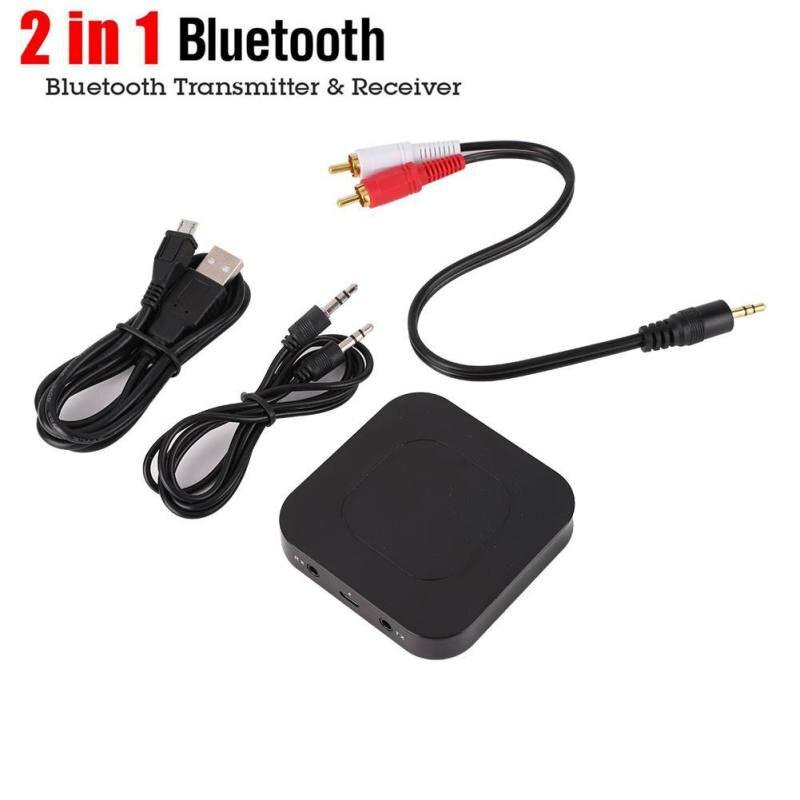 Unterhaltungselektronik 2 In 1 Bluetooth 4,2 Empfänger Sender Drahtlose Adapter 3,5 Mm Aux Audio Gebaut In 500 Mah Batterie Für Pc Lautsprecher Smartphone Gute WäRmeerhaltung Tragbares Audio & Video
