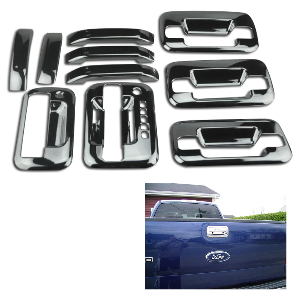 For f ord door handle cover f150 2004 2014 styling tailgate handle cover chrome high quality