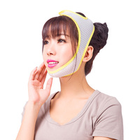 Ange Aile Face Care Correction Bandage Mask Night and Day Using Slim Shaper Compact V Thin Face Belt Burn the Fat of Your Face