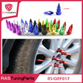 Free Shipping JDM Style 4PCS/set Universal Auto Bicycle Car Tire Valve Cap VALVE Stem CAPS Like Racing Spikes Lug Nuts RS-QRF017