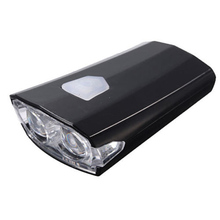 USB Rechargeable Bike Bicycle Cycle LED Front Head Headlight Light 3 Modes black