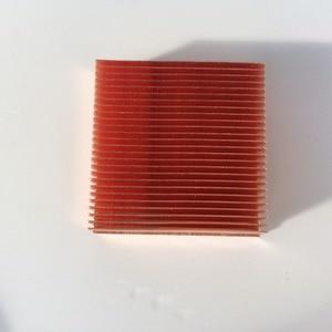 Image 5 - 1 قطعة النحاس المبرد 40*40*11 مللي متر ل رقاقة VGA RAM LED IC المبرد مسند تبريد للاب توب مدمج به مكبر صوت