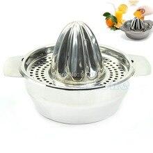 E74 acero inoxidable fruit lemon cocina exprimidor de limón mano prensa exprimidor herramienta de py