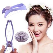 Threading Epilator Spring Hair-Removal Beauty-Tool Eyebrow Face Mini DIY Makeup for Cheeks