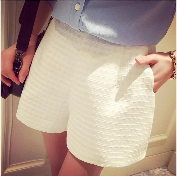 Sexy Women Casual Shorts Fashion OL Lady High Waist Wide Leg Shorts Summer Girls Wide New