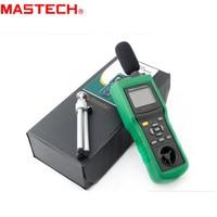 MASTECH MS6300 Digital Multifunction Environment Meter Temperature Humidity Sound Air Flow Meter luminometer Anemometer