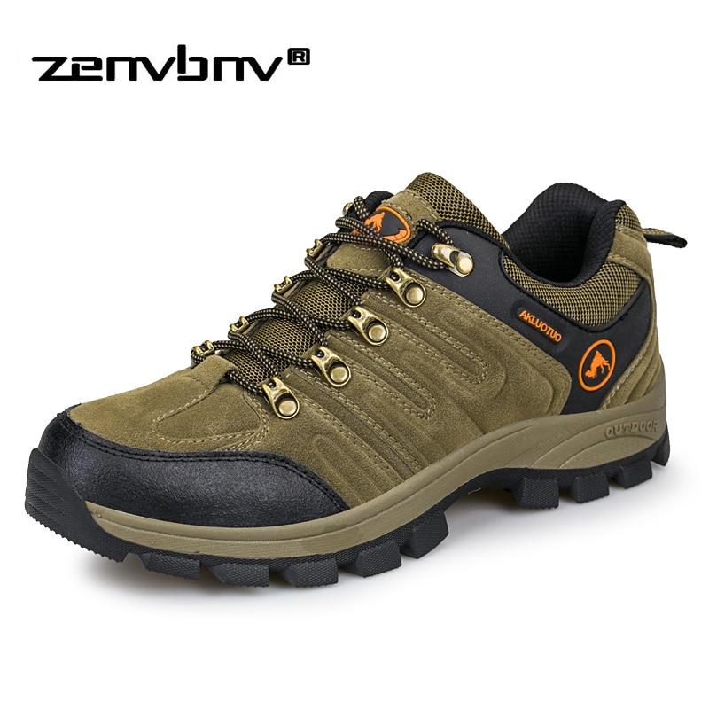 Autumn/Winter Outdoor Men Shoes Comfortable Casual Shoes Size 45 46 Men Breathable Flats For Men Tourist Boots Men's Sneakers