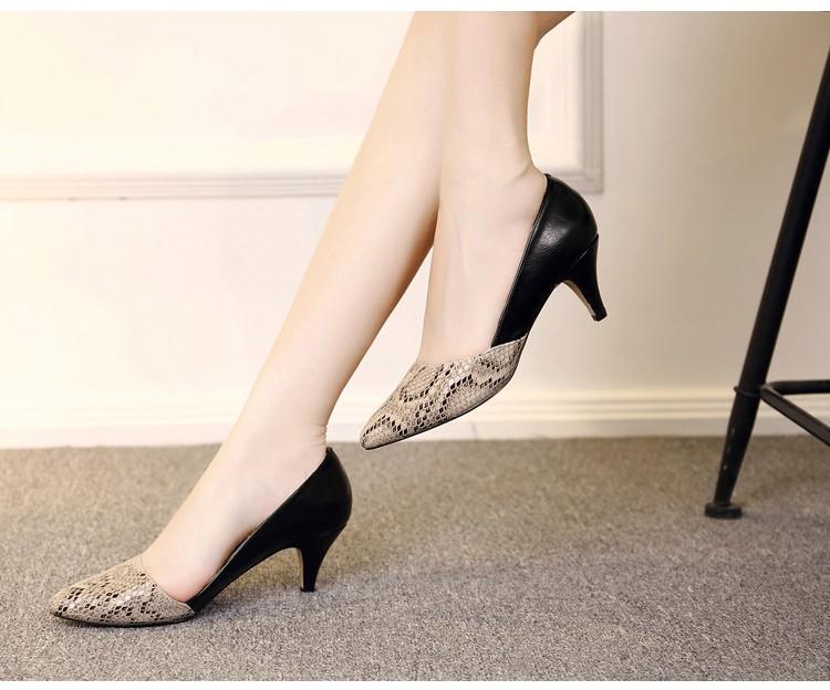 comfortable high heels pointed toe high quality snake grain elegance shoes - free shipping! Comfortable High Heels Pointed Toe High Quality Snake Grain Elegance Shoes – Free Shipping! HTB1pGzzNXXXXXcIaXXXq6xXFXXXA
