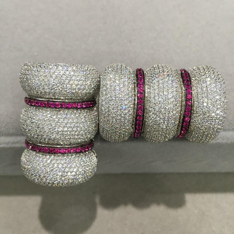 Bijoux à bricoler soi-même fermoir serrure bijoux résultats connecteurs crochet 925 argent avec zircon cubique top qualité mode femmes bijoux