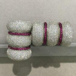 Diy مجوهرات النتائج موصلات مجوهرات المشبك قفل هوك 925 فضة مع مكعب الزركون أعلى جودة أزياء النساء المجوهرات