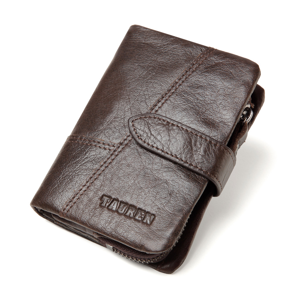 men wallets genuine leather coin procket fashion wallet purse soft small