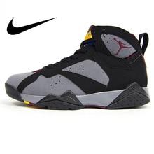 3e61ad6b051 Original Authentic Nike Air Jordan 7 Bordeaux AJ7 Bordeaux Women's  Basketball Shoes Sneakers Sport Outdoor Massage