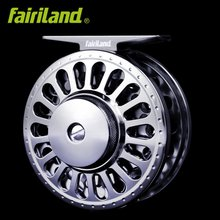 2BB+1RB 1/2 70mm LARGE ARBOR designed FULL METAL fly fishing reel PRECISION MACHINED fly wheel from BAR-STOCK ALUMINUM fish tool