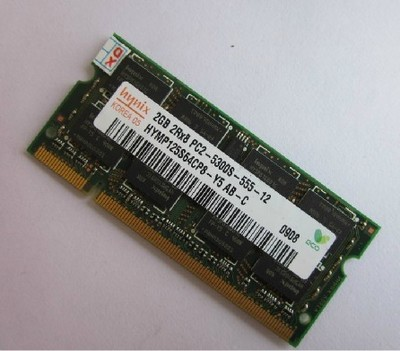 Lebenslange garantie DDR2 2 GB 4 GB 667 MHz PC2-5300S DDR 2 2G Original notebook speicher Laptop RAM 200PIN SODIMM