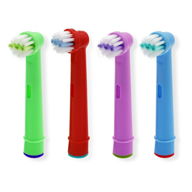 16pcs Replacement Kids Children Tooth Brush Heads For Oral-B Electric Toothbrush Fit Advance Power/Pro Health/Triumph/3D Excel image