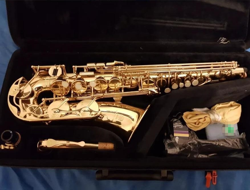 Alto Saxophone Yas 275 Pearl Button Gold Lacquer Alto Saxophone E Flat Sax Instruments new 2017 senior french brand conn selmer black lacquer alto saxophone e as 710 matt encarved alto sax with mouthpiece