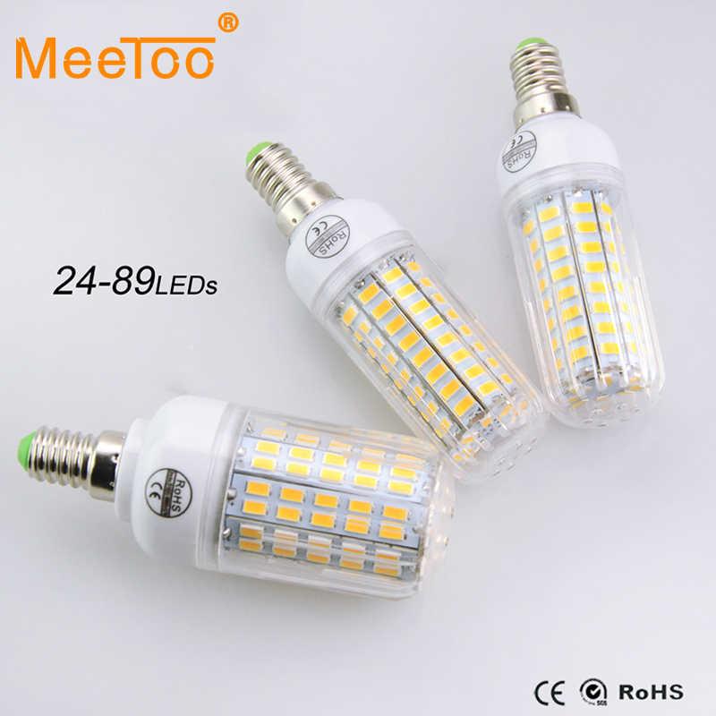 High Power New E14 5730SMD Series CFL10W- 35W Led Spotlight  24-89Leds Bulb Lamp More Brightness Than 2835/3014/5630/5050SMD1PCS