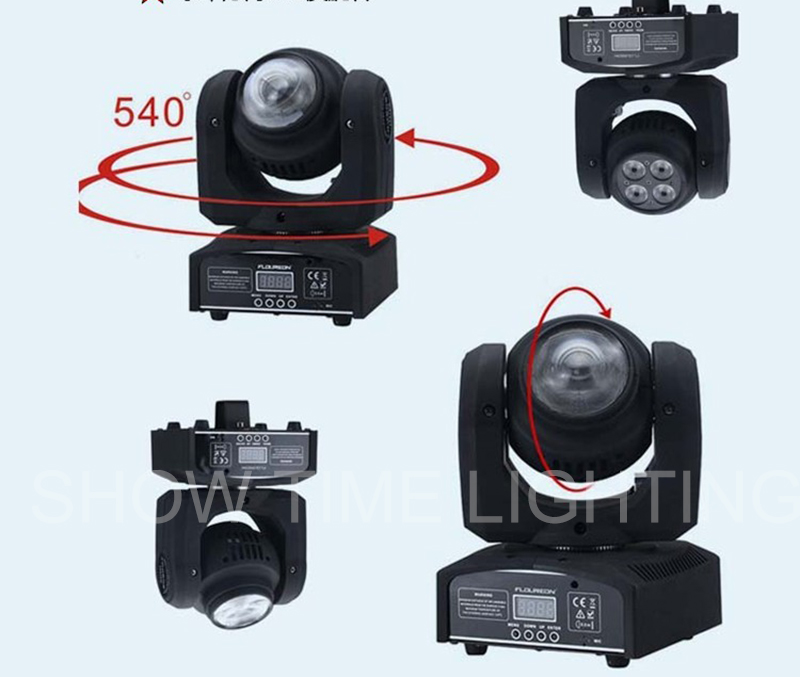 (1pcs/lot)New Arrival Double sides Mini LED moving head 1pcs*20W RGBW Beam&4pcs*10W RGBW 4 IN1 wash good effect for Club Bar factory price 4pcs led moving head zoom wash light 36x10w rgbw 4 in1 stage night club disco bar uplighting fast