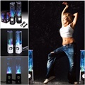 Dança Speaker Active Water Portátil Mini USB Speaker LED Luz Para iphone ipad pc mp3 psp 4 caixa de coluna de água de áudio subwoofer
