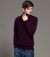 2016 Hot Sales New Fashion Men S Winter Comfortable Soft Pure Cashmere Sweaters Turn Collar Knitwear