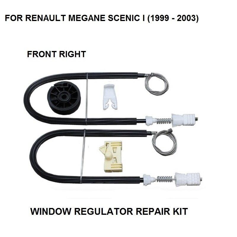 RENAULT MEGANE I WINDOW REGULATOR REPAIR KIT FRONT RIGHT HAND SIDE