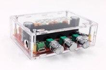 Tpa3116 d2 50wx2 + 100w 2.1 canais de áudio digital subwoofer amplificador placa 12 modules 24v placas módulos