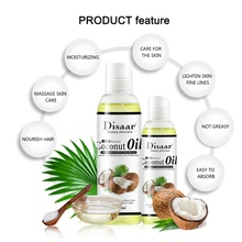 Relaxing Massage Natural Coconut Body Oil