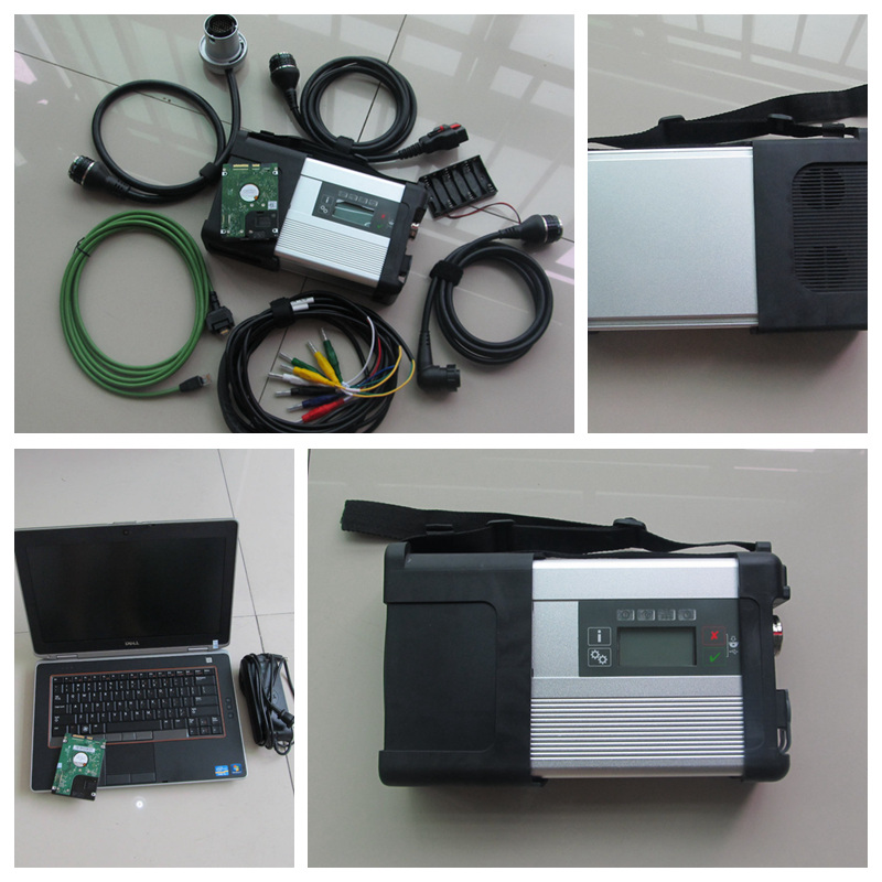 MB Star C5 Wifi mb star diagnostic tool with SD C5 HDD software 2016.12v plus laptop E6420 i5cpu diagnostic pc