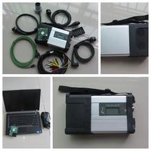 A Estrela do MB C5 Wifi ferramenta de diagnóstico estrela mb com software HDD SD C5 2018.12 v plus laptop E6420 i5cpu diagnóstico pc