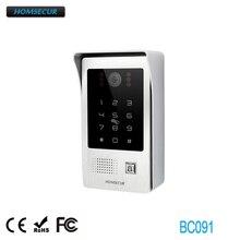 HOMSECUR BC091 открытый контроллер доступа камеры с RFID для HDK серии видео дверной телефон системы