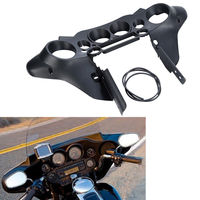 New Black Speedometer Cover Inner Fairing For Harley Tour Road Electra Street Glide FLHT FLHTC FLHTCU