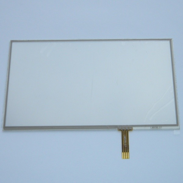 New 6 inch 4Wire Resistive Touch Panel Digitizer Screen For Navi N60 BT / Prology imap-630ti Lexand ST-610