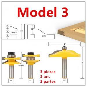 Image 4 - Porta dellarmadio Rail Stile Fresa Carbid Lavorazione Del Legno Router Bit Strumento di Legno Piano di Puzzle Coltelli Pannello Raiser Colla Comune