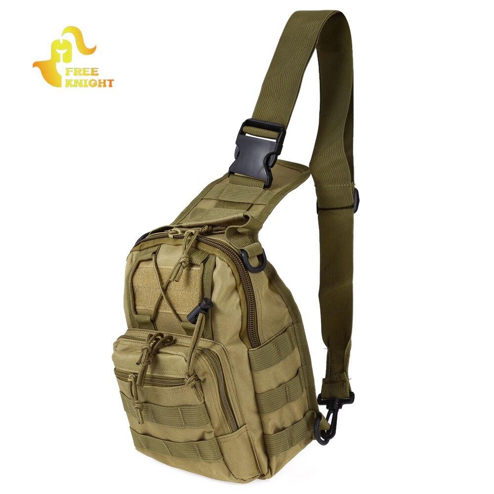 El caballero libre 600D militar Molle mochila ejército táctico hombro bolso Camping senderismo camuflaje bolsa de senderismo caza bolsa