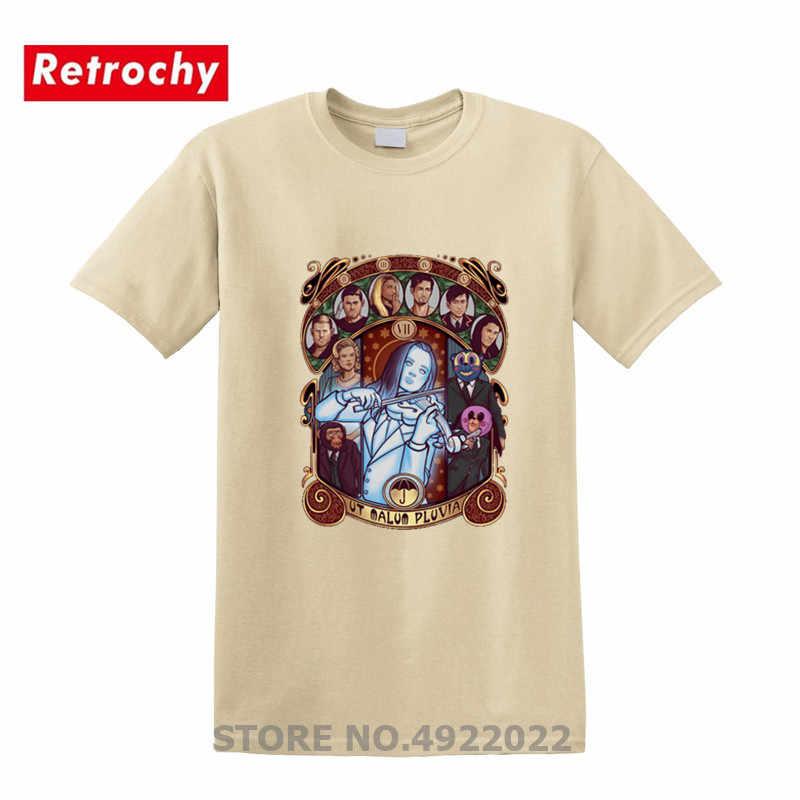 2019 Fashion Payung Nouveau Academy Hargreaves T-shirt Klaus Vanya Putih Biola Dijual T Shirt Pria Desain Baru Tshirt Tees
