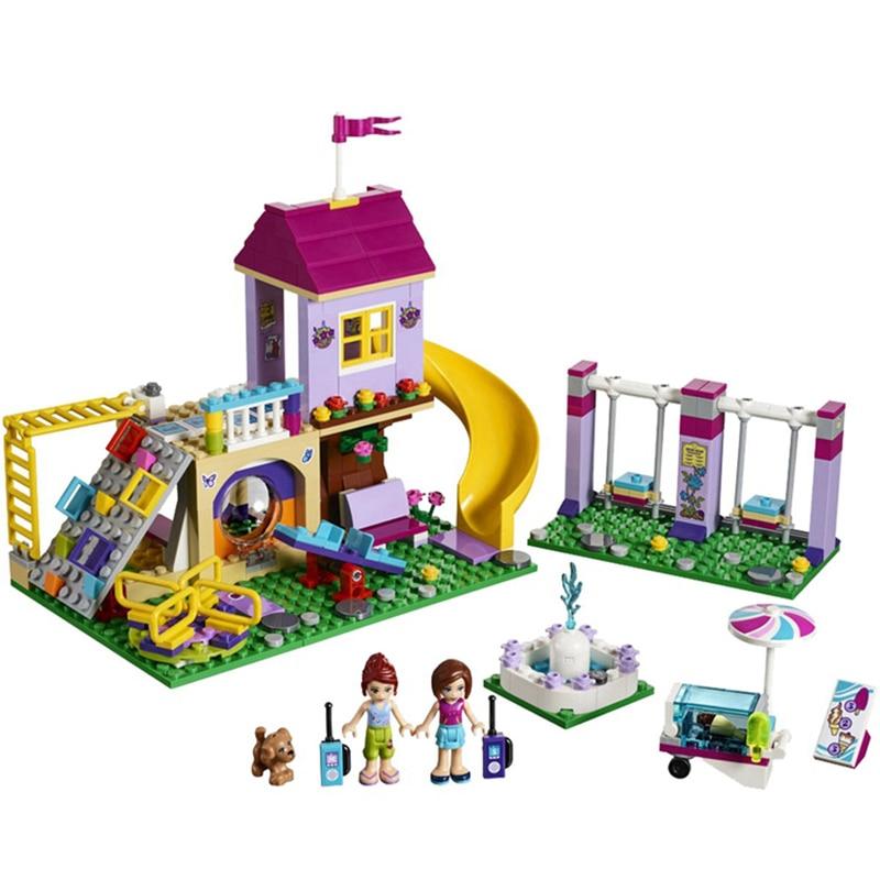 41325 Para Juegos 01050 Compatible Legoeing Patio Con Regalo Friends De Bloques Educativos Heartlake City Construcción Niñas Juguetes ED2YWH9I