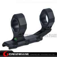 Greenbase 25 4 30mm Precision Ultralight 1 Extended Scope Mount Optic Mount With Bubble Lever Black