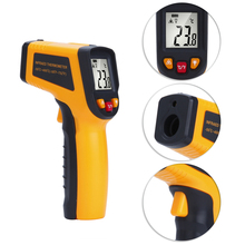 TS400 TS600 Non-Contact Laser LCD Display IR Infrared Digital C/F Selection Surface Temperature Thermometer Pyrometer Imager недорго, оригинальная цена