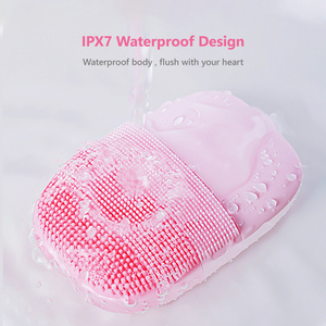 Image 3 - Inface Electric Sonic Facial Cleansing Brush Vibration Face Cleaner IPX7 Waterproof Rechargeable Massage Facial Brush
